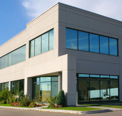 Exterior Office Windows | AAA Glass And Mirror, INC. | Showers ...
